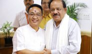 HON'BLE CHIEF MINISTER MEETS UNION MINISTER FOR HEALTH AND FAMILY WELFARE