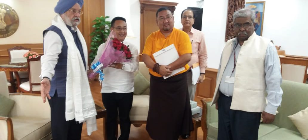 HON'BLE CHIEF MINISTER MEETS MINISTER OF STATE (INDEPENDENT CHARGE) OF CIVIL AVIATION