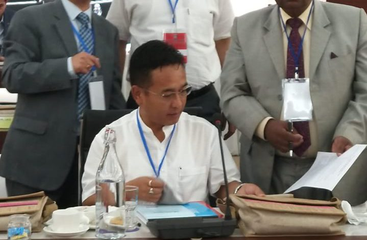 HCM and Governor attends 68th Plenary Meet of NEC in Guwahati