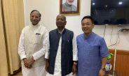 HCM along with Hon'ble Governor meet NCBC Chairman in Bagdogra