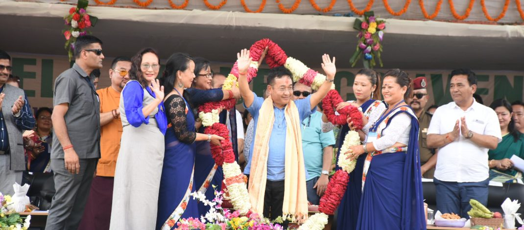 HCM attends SHG Convention for South & West districts at Jorethang