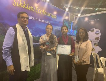 Sikkim Ecotourism wins Most Exclusive Leisure Product Award at TTF, Surat