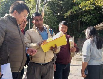 DC West Conducts Joint Inspection at Gyalshing