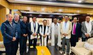 HCM on Official tour of Arunachal Pradesh met with HCM Shri Pema Khandu