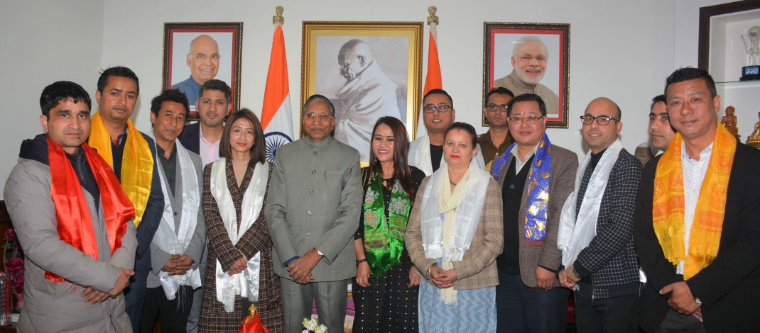 Press Club of Sikkim called on the Hon'ble Governor