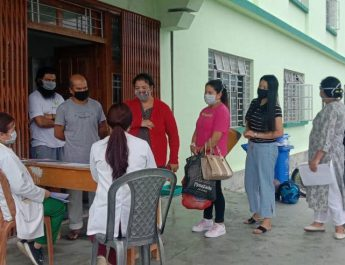25 people were discharged after testing negative at Namchi Government College, Kamrang