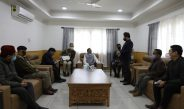 The Hon'ble Governor convened a meeting with the official of Rangpo Sub-Division