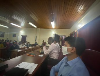 A meeting was conducted at District Administrative Centre Sichey