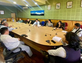 A coordination meeting of Advisors & Chairpersons was held at the conference hall of Soochna Bhawan