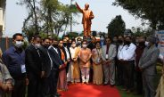 The 130th Birth Anniversary of Dr. Ambedkar was observed at SLA complex