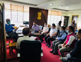 A joint delegation of all Sikkim Lepcha organizations visit DC East
