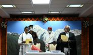 Justice Shri. Biswanath Somadder sworn in as the Chief Justice of High Court of Sikkim